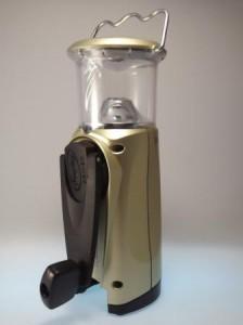 Handkurbelleuchte für autarke Lichtversorgung