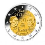 50 Jahre Elysee-Vertrag 2 Euro Komplettsatz