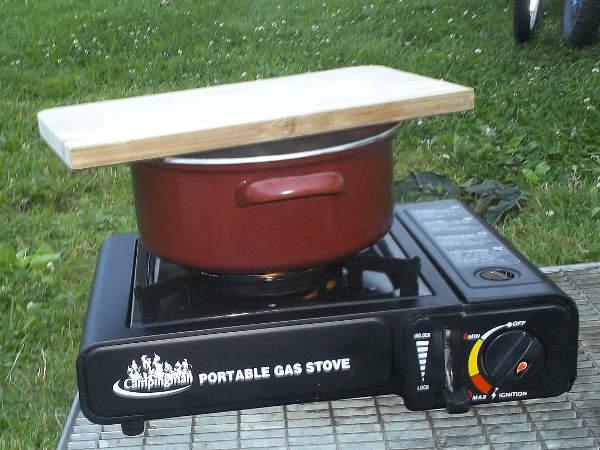 Alternative Kochmöglichkeiten - Gaskocher