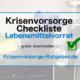 Krisenvorsorge Checkliste Lebensmittelvorrat gratis downloaden