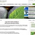Grüne Geldanlage