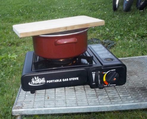 Gaskocher als alternative Kochmöglichkeiten