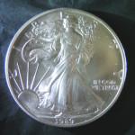 Silbermünze Eagle