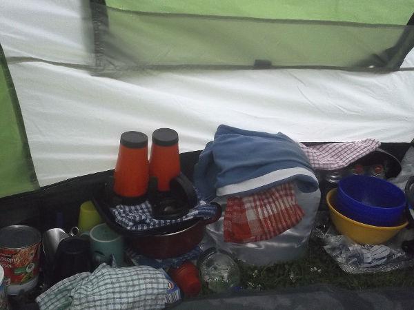 Camping als Survival-Training