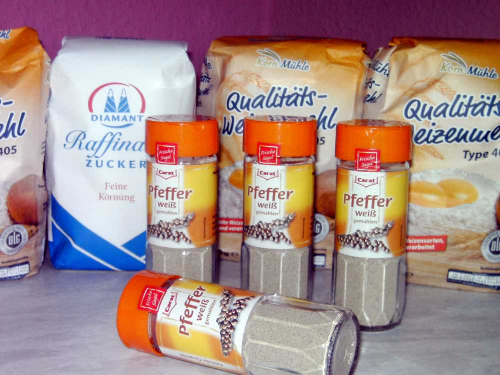 Zucker, Mehl und Gewürze - wichtige Langzeitlebensmittel für Krisenvorsorge