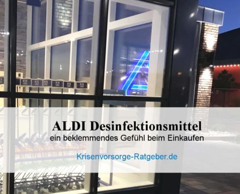 ALDI Desinfektionsmittel im Angebot