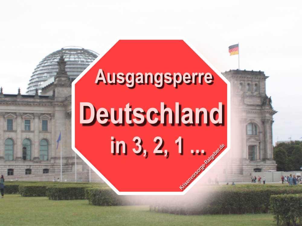 Ausganssperre Deutschland