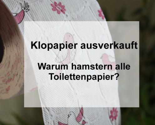 Klopapier ausverkauft: Warum hamstern alle Toilettenpapier?