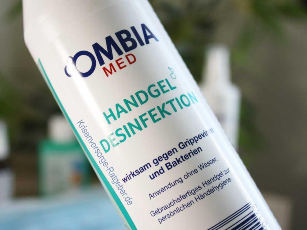 OMBIA MED Handgel Desinfektion im Angebot bei ALDI
