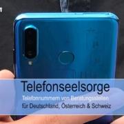 Telefonseelsorge & Krisenberatung - Telefonnummer Deutschland, Österreich & Schweiz