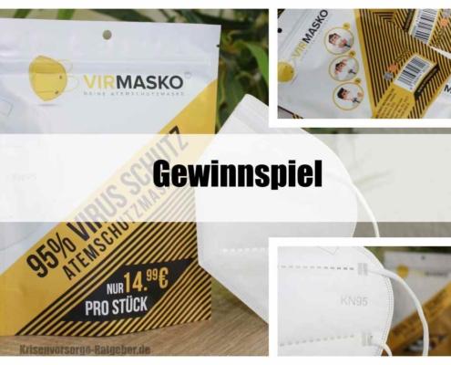 KN95 Masken gewinnen mit Krisenvorsorge-Ratgeber.de