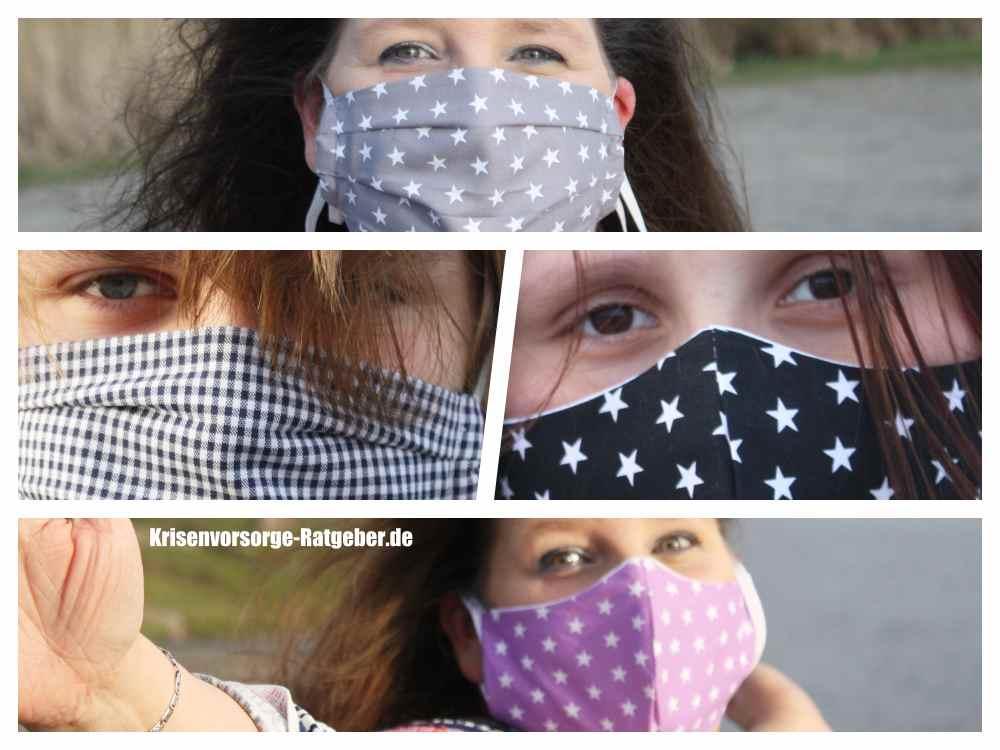 Waschbare Stoffmasken kaufen - für Kinder und Erwachsene