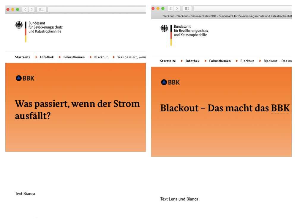 BBK Blackout Dossier - leider nicht vollständig